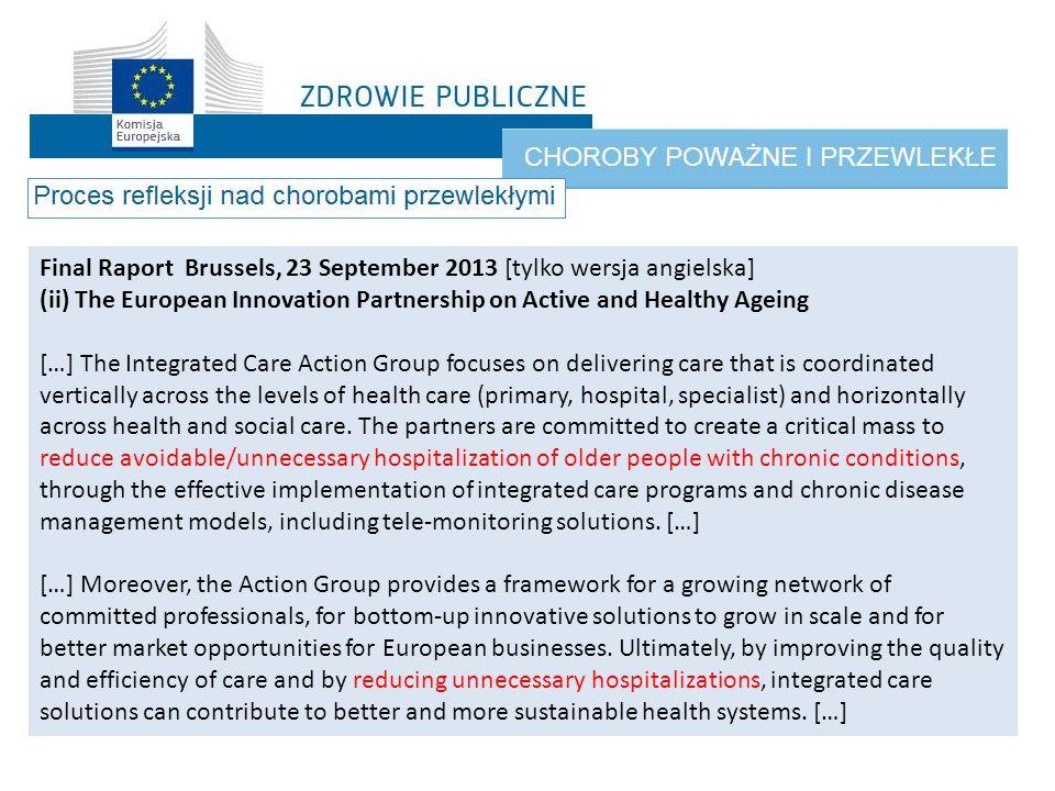 Final Raport Brussels, 23 September 2013 [tylko wersja angielska]